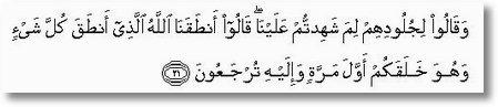 arab 41 ayat 21